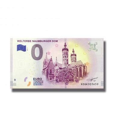 0 EuroSouvenir Banknote Welterbe Naumburger Dom Germany 2019-1 XEGK
