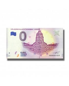 0 EuroSouvenir Banknote Volkerschlachtdenkmal Leipzig Germany 2019-1 XEGE