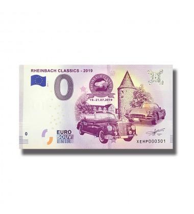0 EuroSouvenir Banknote Reinbach Classics Germany 2019-1 XEHP