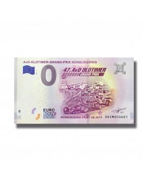 0 EuroSouvenir Banknote AvD Oldtimer Grand Prix Nurburgring Germany 2019-4 XECM