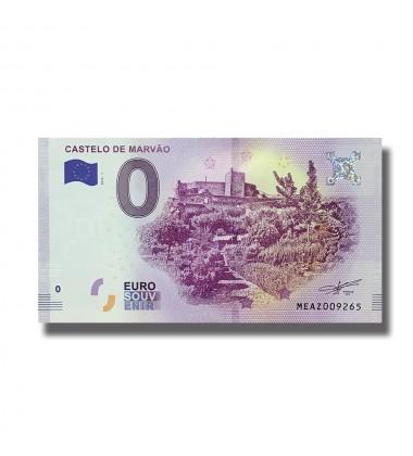0 EURO SOUVENIR BANKNOTE CASTELO DE MARVAO 2018-1 MWAZ
