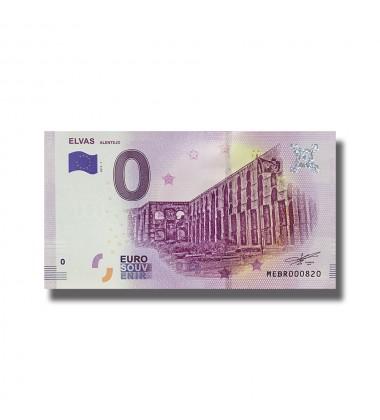 0 EURO SOUVENIR BANKNOTE ELVAS 2019-1 MEBR