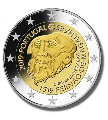 2019 PORTUGAL FERDINAND MAGELLAN 2 EURO COMMEMROATIVE COIN