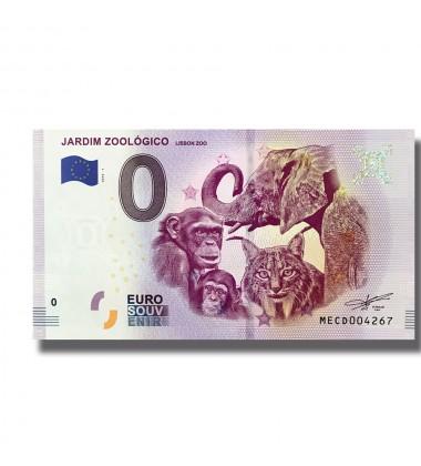 0 Euro Souvenir Banknote Jardim Zoologico Lisobon Zoo Portugal  MECD 2019-1