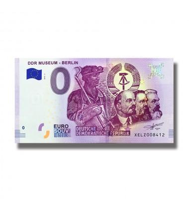0 Euro Souvenir Banknote DDR Museum - Berling Germany XELZ 2018-3