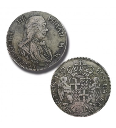 1790 DE ROHAN 30 TARI - KNIGHTS OF MALTA COIN