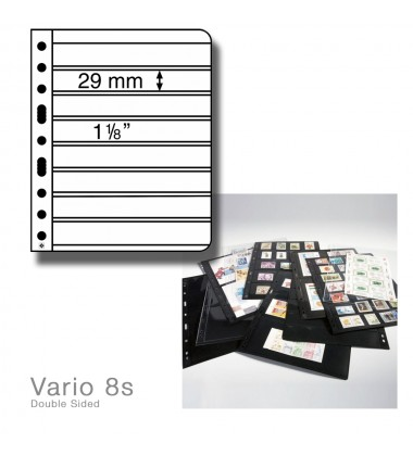 LEUCHTTURM LIGHTHOUSE VARIO 8s PACK OF 5 DOUBLE SIDED PAGES