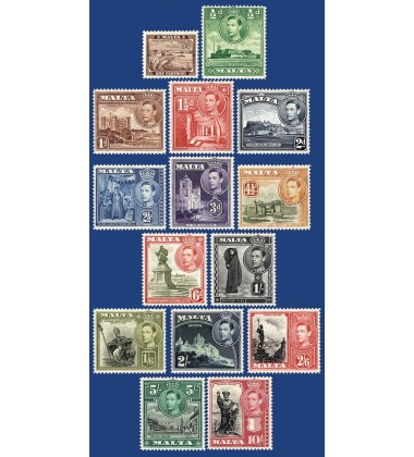 MALTA STAMPS DEFINITIVE