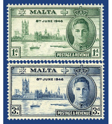 MALTA STAMPS VICTORY