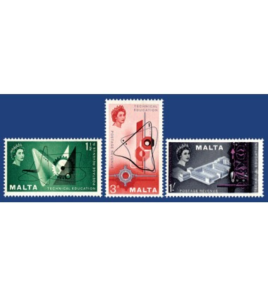 MALTA STAMPS TECHNICAL EDUCATION