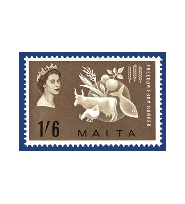 MALTA STAMPS FREEDOM FROM HUNGER CAMPAIGN