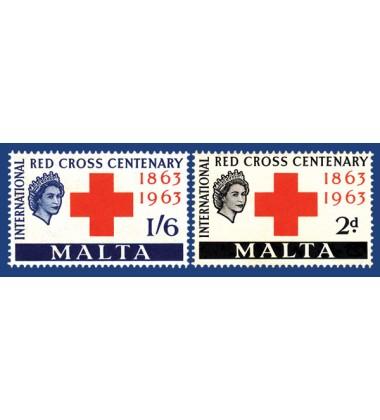 MALTA STAMPS RED CROSS CENTENARY