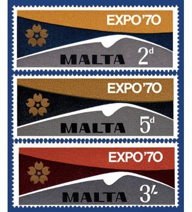 MALTA STAMPS EXPO 1970