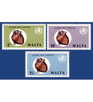 MALTA STAMPS HEART