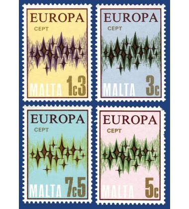 MALTA STAMPS EUROPA 1972