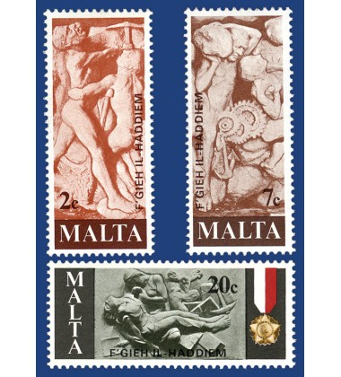 MALTA STAMPS MALTESE WORKERS