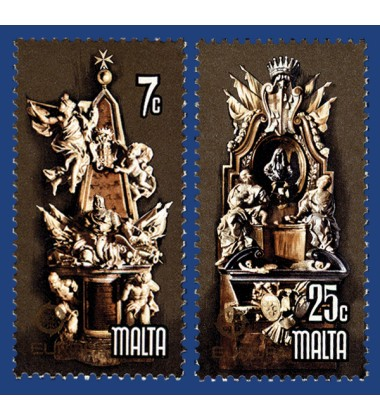 MALTA STAMPS EUROPA 1978