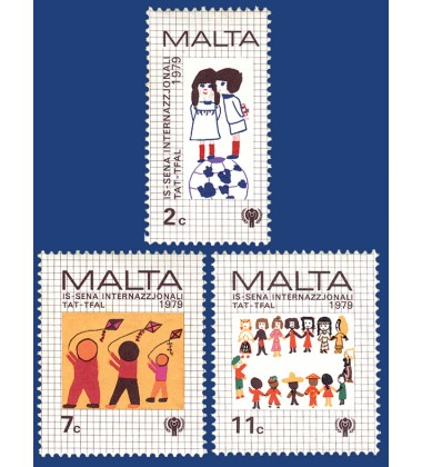 MALTA STAMPS INTERNATIONAL YEAR OF THE CHILD