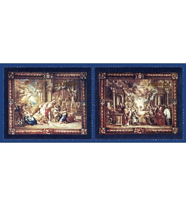 MALTA STAMPS FLEMISH TAPESTRIES 4TH SERIES