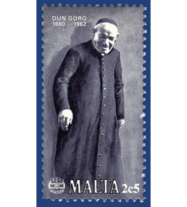 MALTA STAMPS CENTENARY OF THE BIRTH OF DUN GORG PRECA