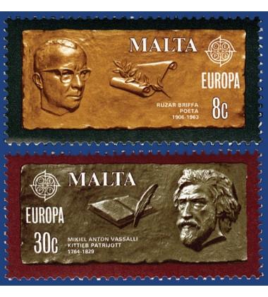 MALTA STAMPS EUROPA 1980