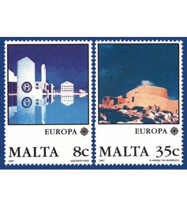 MALTA STAMPS EUROPA 1987