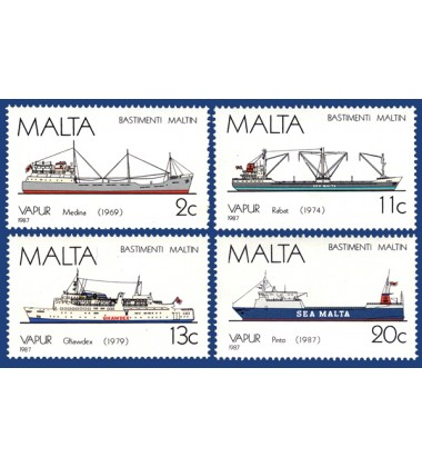 MALTA STAMPS MALTESE SHIPS 5TH SERIES