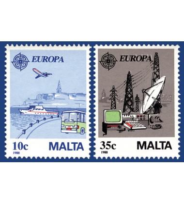 MALTA STAMPS EUROPA 1988