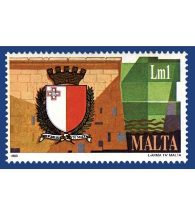 MALTA STAMPS NEW EMBLEM OF MALTA
