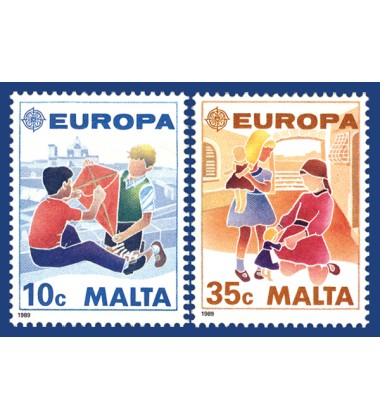 MALTA STAMPS EUROPA 1989