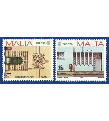 MALTA STAMPS EUROPA 1990