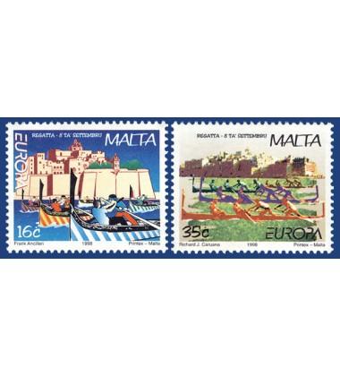 MALTA STAMPS EUROPA 1998