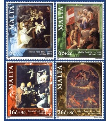 MALTA STAMPS CHRISTMAS 1998