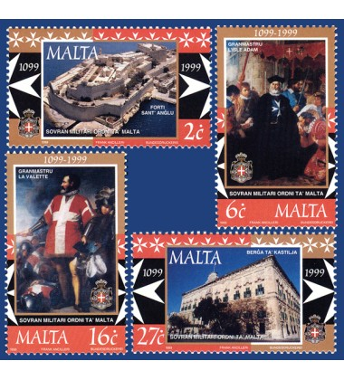 MALTA STAMPS SOVEREIGN MILITARY ORDER OF MALTA