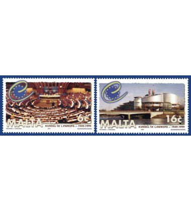MALTA STAMPS COUNCIL OF EUROPE