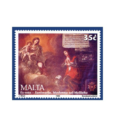 MALTA STAMPS MELLIEHA SANCTUARY