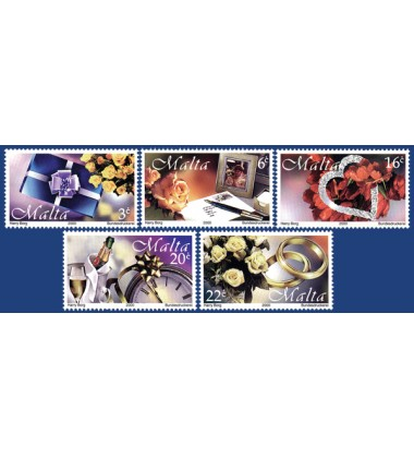 MALTA STAMPS GREETINGS 2000