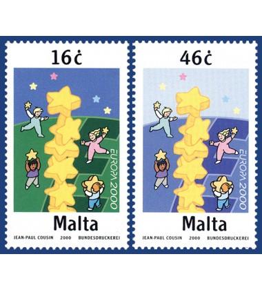 MALTA STAMPS EUROPA 2000