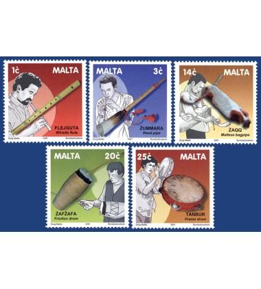 MALTA STAMPS OLD MALTESE INSTRUMENTS