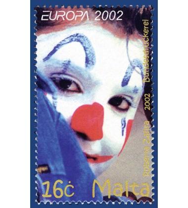 MALTA STAMPS EUROPA 2002
