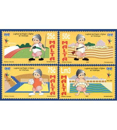 MALTA STAMPS SMALL GAMES