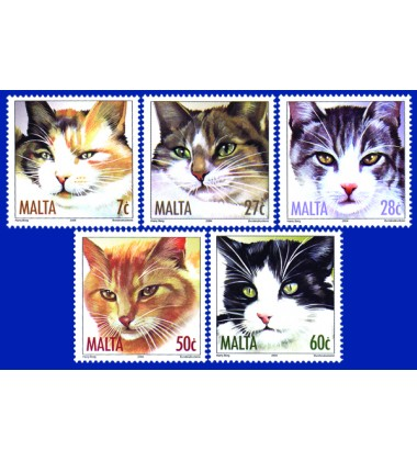 MALTA STAMPS CATS