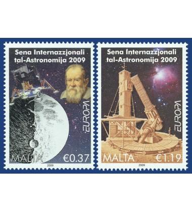 MALTA STAMPS EUROPA - ASTRONOMY 09