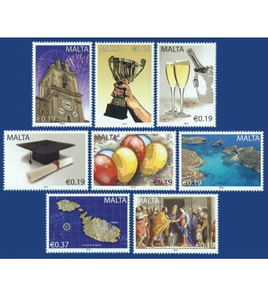 MALTA STAMPS OCCASIONS 2010