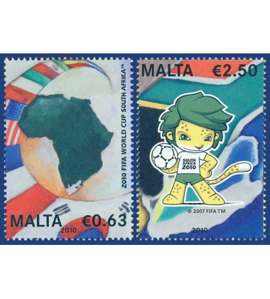 MALTA STAMPS FIFA WORLD CUP 2010