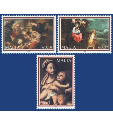 MALTA STAMPS CHRISTMAS 2010