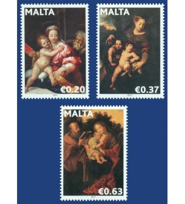 MALTA STAMPS CHRISTMAS 2011