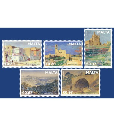 MALTA STAMPS INTERNATIONAL ARTISTS