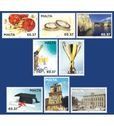 MALTA STAMPS OCCASIONS