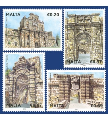 MALTA STAMPS TREASURES OF MALTA